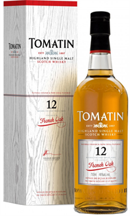 Tomatin Scotch Single Malt 12 Year French Oak 750ml